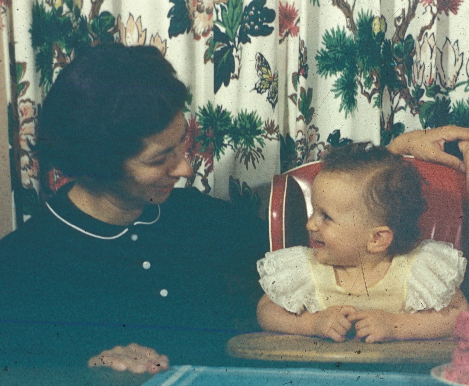 Janet at One Year and her Mother